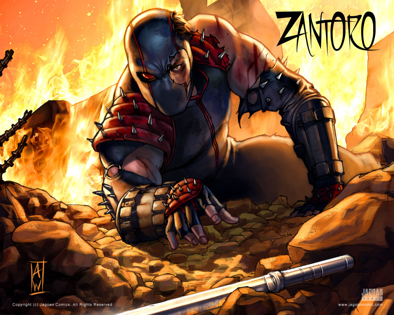 Zantoro Super Hero Indonesia